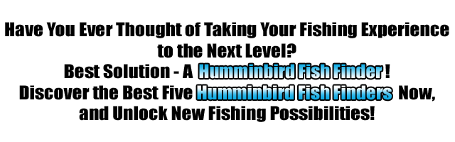 The Best Hummingbird Fish Finders