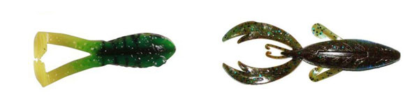 Plastic Frogs for Largemouth Bass
