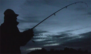 Night Fishing Angler